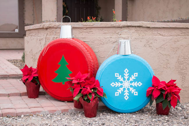 Holiday decorations for landscapes