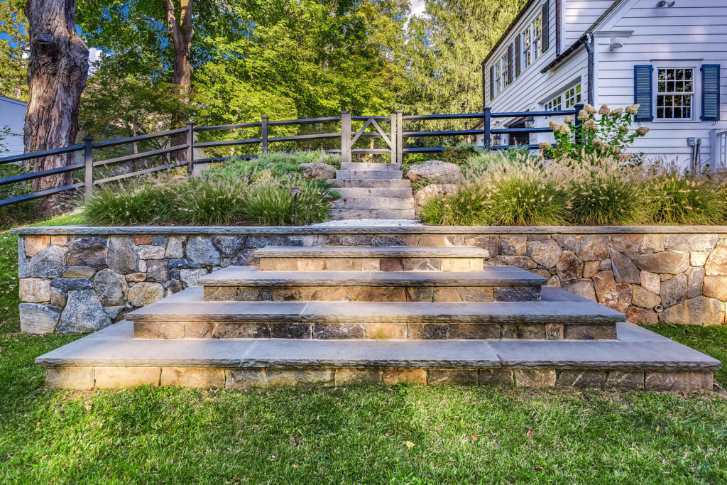 stone staircase and masonry