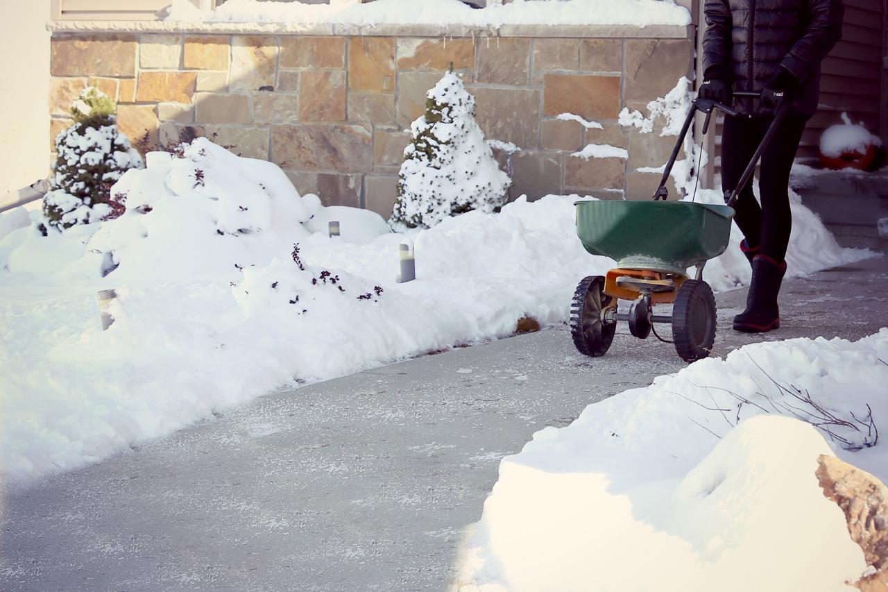 de icing your walkway