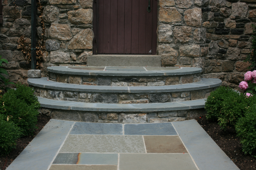 front steps installation