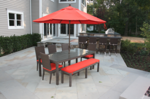 the size of a patio should be custom to your needs