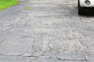 cracked driveways are often caused by poor installation