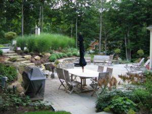 backyard with outdoor patio