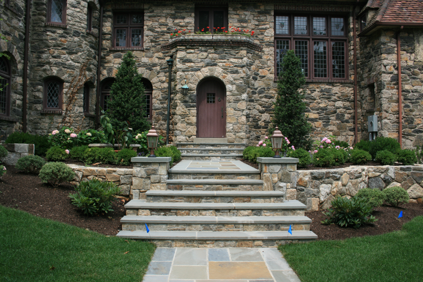 front outdoor steps