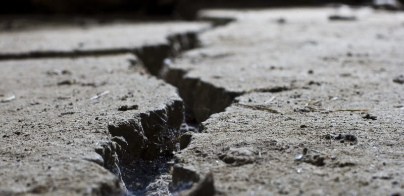large cracks can compromise your entire driveway
