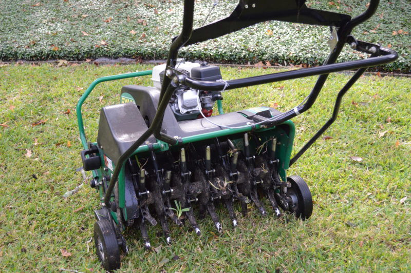 aerating your lawn is a very important piece of its maintenance