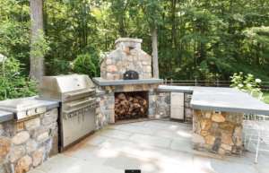 an outdoor kitchen is exactly what your home needs