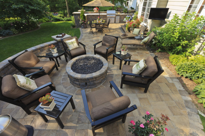 patios are the perfect places to host parties