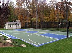Back Yard Play Ground | Landscape Design New Canaan CT | Westport CT