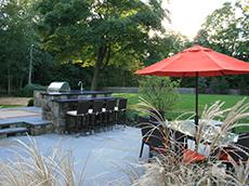 Out Door Entertainment | Landscape Design New Canaan CT | Westport CT