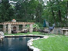 Rustic Country Living | Landscape Design New Canaan CT | Westport CT