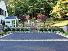 Hillside Retreat | Landscape Design New Canaan CT | Westport CT