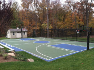 add some fun to your home with your own personal court