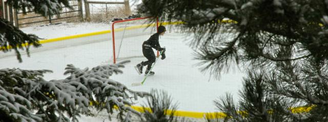 Home Outdoor Ice Rink   Landscape Design New Canaan CT   Westport CT   Ridgefield CT