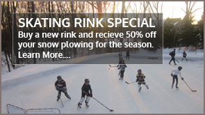 Home Outdoor Ice Rink | Landscape Design New Canaan CT | Redding CT